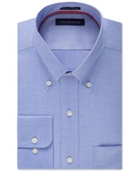 Tommy Hilfiger Non Iron Solid Dress Shirt