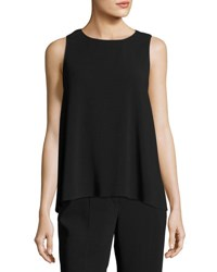The Row Mikita Cady Sleeveless Top Black