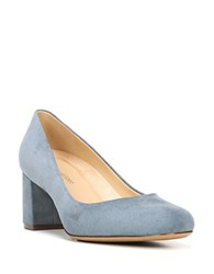 Naturalizer Whitney Suede Pumps Blue
