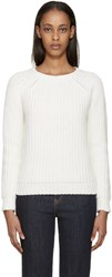 Earnest Sewn White Tourmaline Sweater