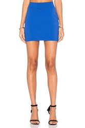 Susana Monaco Slim Skirt Blue