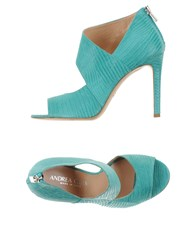 Andrea Catini Footwear Courts Women Turquoise
