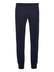 Wooyoungmi Cuffed Wool Blend Trousers