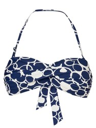 Phase Eight Spot Print Bikini Top Navy