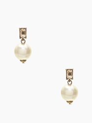 Kate Spade Pearl Street Drop Earrings Ivory Light Peach