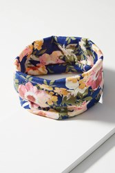 Anthropologie Seamless Daisy Headband Navy