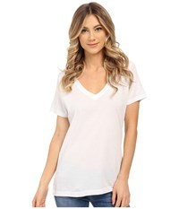 Hurley Staple Perfect V Tee White Women's T Shirt