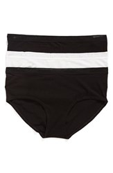 Naked Women's 3 Pack Hipster Briefs