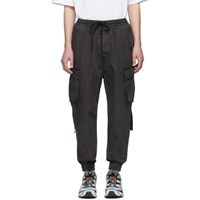 Juun.J Grey Tapered Cargo Pants