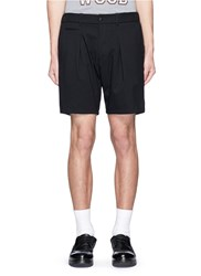 Nanamica Stretch Twill Shorts Black