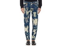 Gucci Men's Bleached Skinny Jeans Blue