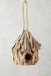 Anthropologie Driftwood Birdhouse Neutral
