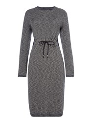 Label Lab Carly Knitted Dress Grey