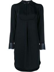 Zimmermann Tunic With Gold Neck Pin Fastening Black