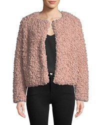 Milly Curly Faux Fur Jacket Ballet