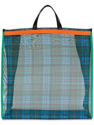 P.A.R.O.S.H. Checked Tote Green