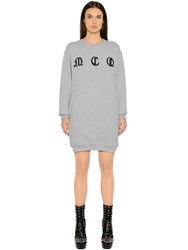 Mcq By Alexander Mcqueen Embroidered Cotton Sweatshirt Dress