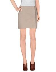 Blumarine Skirts Mini Skirts Women Dove Grey