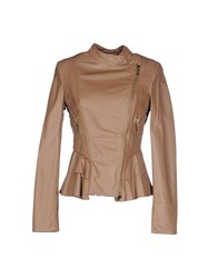Betty Blue Coats And Jackets Jackets Women Brown
