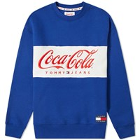 Tommy Jeans X Coca Cola Crew Sweat Blue
