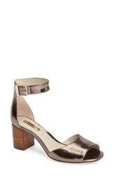 Louise Et Cie Women's Karisa Ankle Cuff Sandal Platina Leather