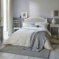 Sanderson Chiswick Grove Duvet Cover Silver Grey