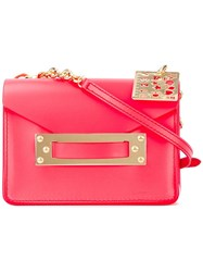 Sophie Hulme Camera Crossbody Bag Red