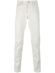 Natural Selection Taper Pepper Jeans Men Cotton 32 32 White