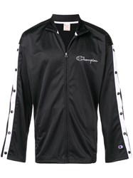 Champion Pop Arms Track Jacket Black