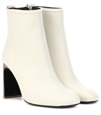 Rag And Bone Ellis Leather Ankle Boots White
