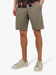 Ted Baker Selshor Chino Shorts Green Olive