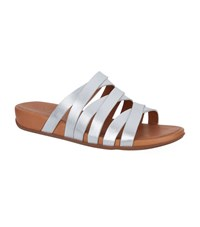 Fitflop Lumy Slides Female Silver