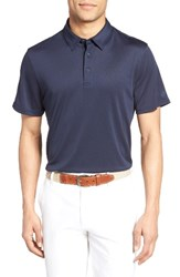 Ag Jeans Men's The Tarrant Pique Polo Naval Blue