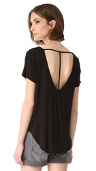 Chaser T Back High Low Tee Black