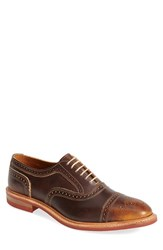 Allen Edmonds Men's 'Strandmok' Cap Toe Oxford Brown Leather