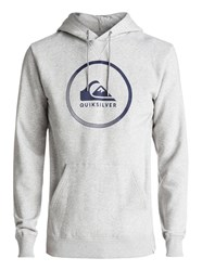 Quiksilver Men's Big Logo Hoodie Grey