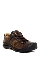 Keen Finlay Leather Sneaker Brown