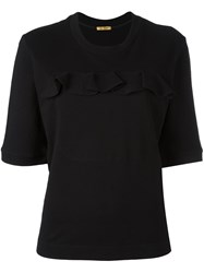 Peter Jensen Frill Pocket T Shirt Black