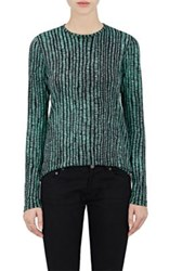 Proenza Schouler Women's Cotton Long Sleeve T Shirt Light Green