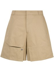 Wooyoungmi Short Trousers Brown