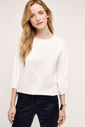 Anthropologie Sloane Blouse White