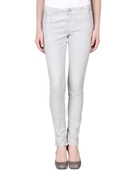 Blugirl Folies Casual Pants Light Grey