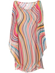 Paul Smith Black Label Striped Dress Multicolour