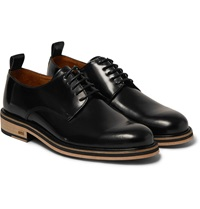 Ami Alexandre Mattiussi Glossed Leather Derby Shoes