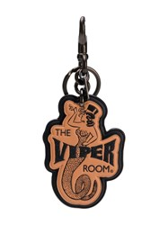 Coach X The Viper Room Leather Tag Keyring Neutrals