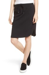 James Perse Track Skirt Black