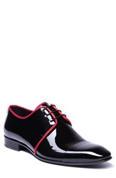 Jared Lang Romeo Cap Toe Derby Black Leather