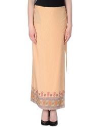 Maliparmi Long Skirts Apricot