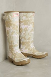 Anthropologie Hunter Camo Rain Boots Novelty