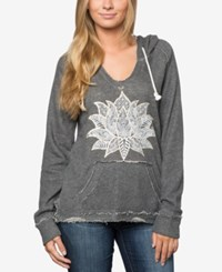 O'neill Juniors Manhattan Graphic Hoodie A Macy's Exclusive Charcoal